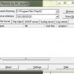 ネットワーク機器類からconfigファイルをダウンロードするためにTFTPサーバを立ち上げる最短の方法