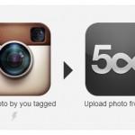 Instagramで #500px のタグを入れた自分の写真を、500pxに自動アップロードしてみる