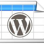 WordpressのTable生成プラグイン『TablePress』が便利すぎてもう手放せない