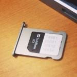 iPhone5sのSIMカードの取り外し方