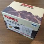 初心者向けアウトドア用バーナーセット「プリムス・ミニマムスターターボックス」を買ってきたよ