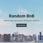 AirBnBの物件にランダムで飛ばしてくれる「Random BnB」がおもしろい