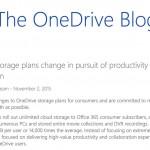 ズコー! OneDriveの容量無制限が廃止決定 出来ないなら初めからやるなよ! という感が満載