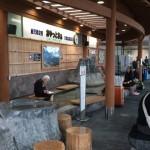 ようこそ鹿児島! 鹿児島空港のバスターミナルには天然の足湯があるよ