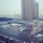 東京降雪! ノマドワーカーは通勤しなくて済むからやっぱり最高です