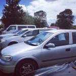 【NZ】ロトルアの「週末になると自然に中古車が集まってくる広場」に行ってきた(動画あり)