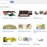 Googleの過去のロゴをまとめて掲載しているサイト