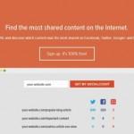 自分のサイトがどれだけSNSで共有されたか、ページごとの共有数を一覧表示してくれる「Social Count」