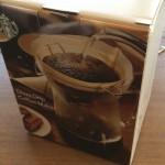 会社の送別会でスタバのコーヒーメーカーをいただいた! 愛用させていたきますゥ!