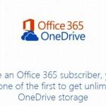 Office 365ユーザのOneDriveをいちはやく容量無制限にしてもらう申請をしてみた